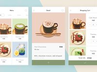 Light cafe | coffee app