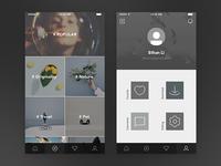 Second app | Categories | Profile
