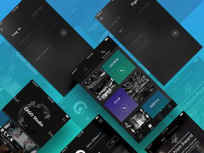 Cago Studio App Design