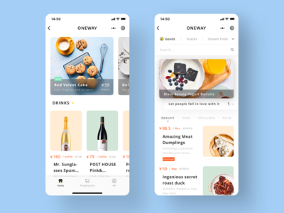 Food Shopping App
