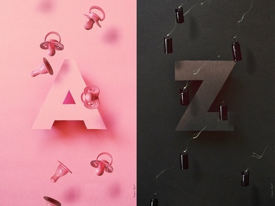 Whispering the Alphabet Posters