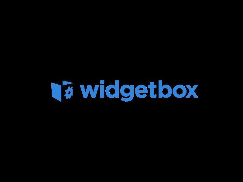 Widgetbox Logo identity logo branding