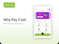 Mobile wallet App UI UX design