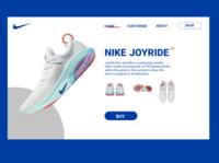 nike shoes landing page