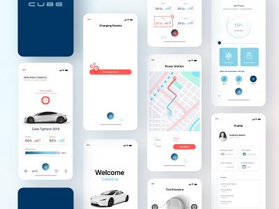 UI App automobile ux ui