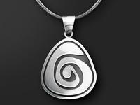 Pysanka pendant