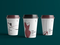 Paper Cups for BFI Fashion Film Festival