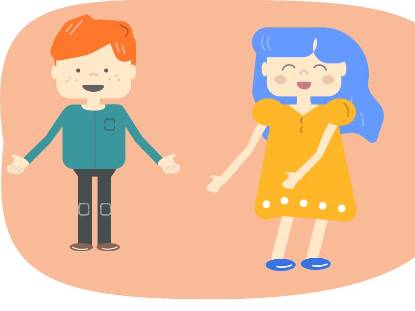Children joyful happiness feelings children peoples illustration website vector web ui design