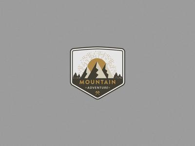 Mountains Badge Logo