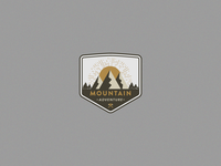 Mountains Badge Logo