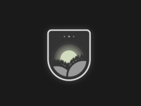 Moon badge logo