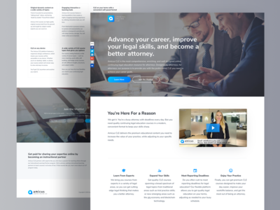 Amicus CLE Landing Page