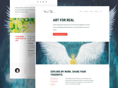 Dinah Rau Art Website