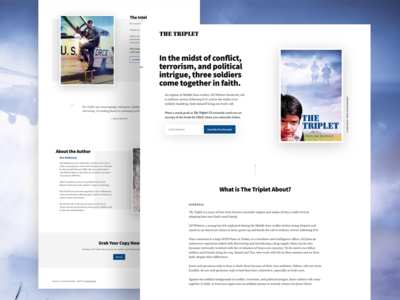 The Triplet Novel Website