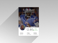 Player Card