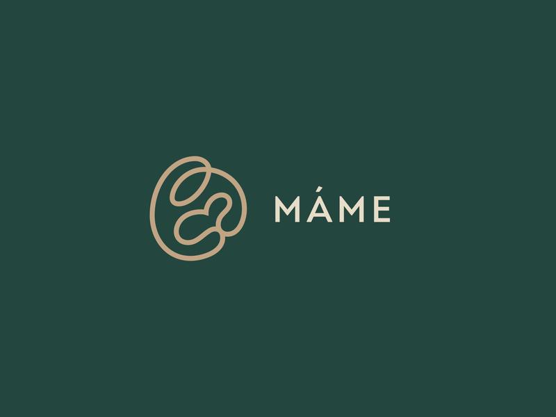 """Mame"" logotype_alternate colors"