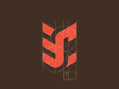 """""""3C"""" monogram grid"""
