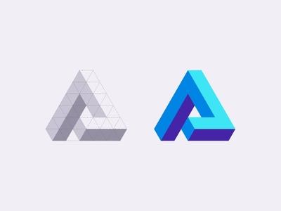 """""""A"""" monogram"""