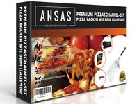 Pizza Slicer Set Package Design