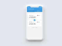 Currency Conventer Application clean ui clean modern exchange rate currency exchange flutter android iphone mobile application ux ui conventor currency