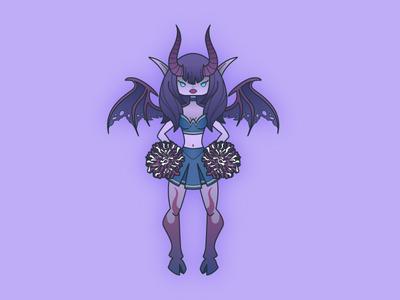 Succubus Cheerleader