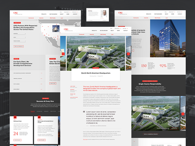 A/E/C Firm Website map design building website construction engineering architecture