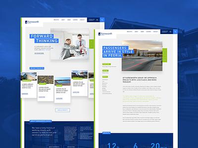 Farnsworth Initial Design Comps design building website construction engineering architecture