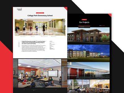 Fanning Howey Website — Projects education school building architect grid case study portfolio project