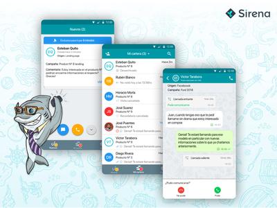 Sirena Mobile app