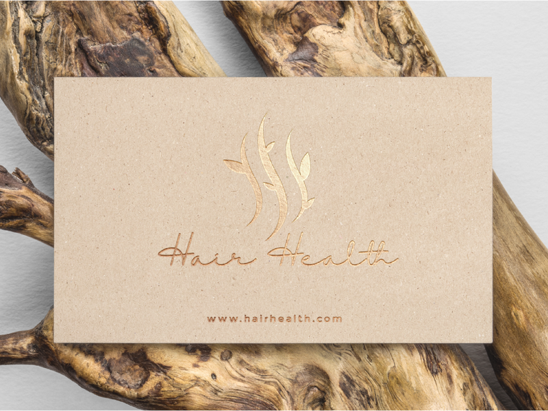 hair health business card design