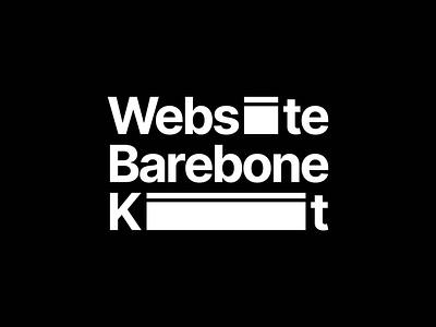 Website Barebone Kit Logo Concept logo