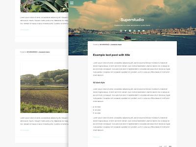 Superstudio Tumblr Theme web design tumblr tumblr theme theme clean responsive