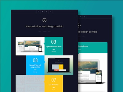 My Portfolio web design portfolio responsive