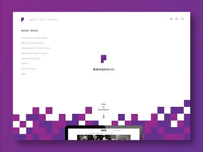 Bakedpixel web design web design portfolio
