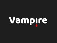 Wordmark vampire