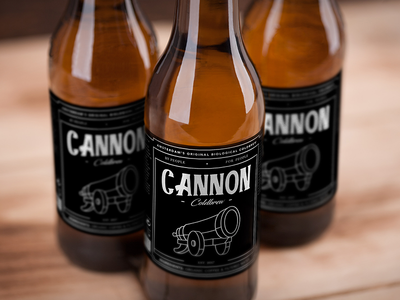 Cannon Coldbrew - Labeled Bottles