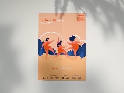 Poster FEIRA CARIRI CRIATIVO
