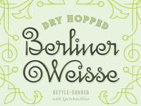 Dry Hopped Berliner Weisse