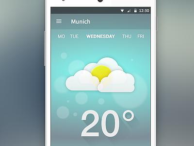 Just Another Weather App sketchapp ios app weather