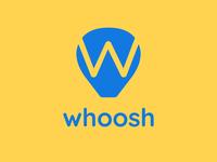 Whoosh - Hot Air Balloon Logo