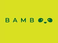 Bamboo - Panda  Logo