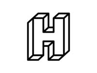 """""""H"""" - Single Letter  Logo"""