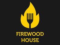 Firewood House Restaurant - Flame Logo