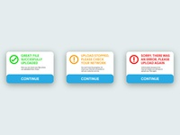 Daily UI: Flash Messages