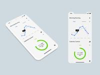 Daily UI: Analytics Chart (Fitness App)