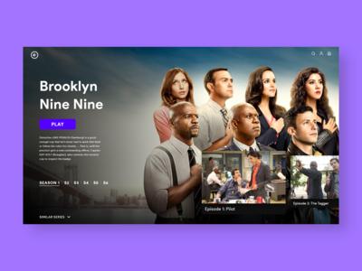 Daily UI: TV App