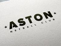 Aston Netball Club Logo