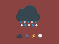 Aer - Weather icon set