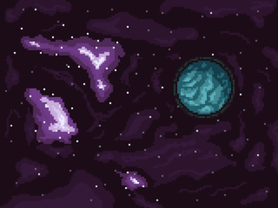 Space Pixels pixel art space planet stars universe galaxy pixels pixel