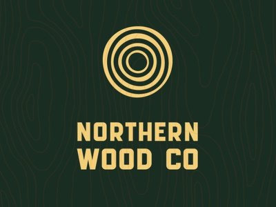 Northern Wood Co brand green wood design guidelines branding